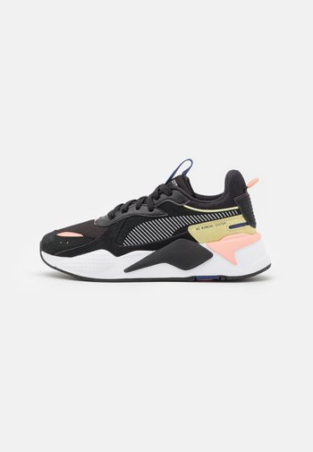 RS-X REINVENT - Sneakers laag - black/apricot blush/yellow pear