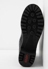 Rieker - Classic ankle boots - schwarz/kastanie - 6