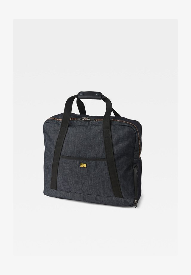 Weekend bag - raw denim