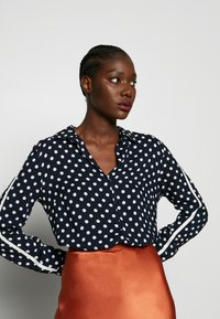 More & More - BLOUSE 1/1 SLEEVE - Blouse - dark blue