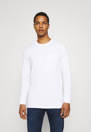 JCOTANBY TEE CREW NECK - Long sleeved top - white