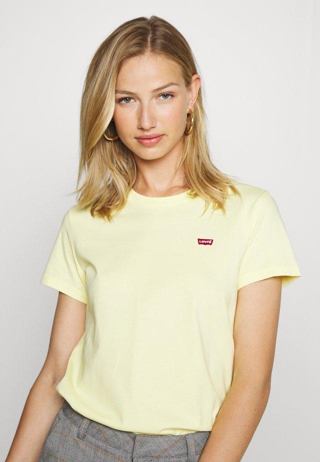PERFECT TEE - Camiseta básica - lemon meringue