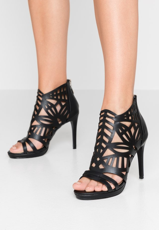 DEMI - High heeled sandals - black