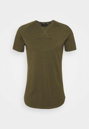 STATEMENT TEE - Print T-shirt - olive