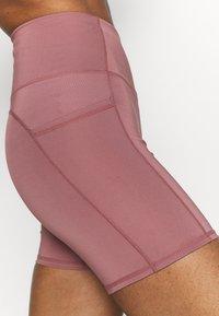 Cotton On Body - LIFESTYLE POCKET BIKE SHORT - Leggings - dusty rose - 4
