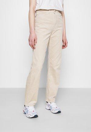 ROWE TROUSER - Trousers - beige