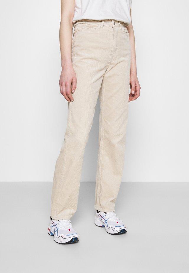 ROWE TROUSER - Spodnie materiałowe - beige