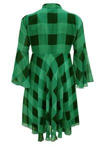 Yoek - CHECK PRINT - Day dress - green - 1