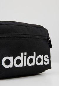 adidas Performance - ESSENTIALS LINEAR SPORT WAISTBAG - Bum bag - black/white - 8