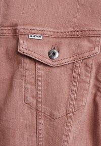 G-Star - 3301 BOYFRIEND DENIM - Denim jacket - dark tea rose - 5