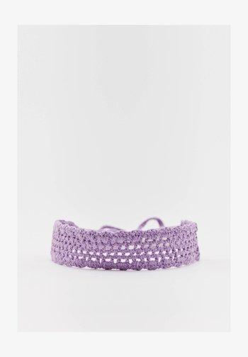 HÄKEL - Hair styling accessory - mottled purple