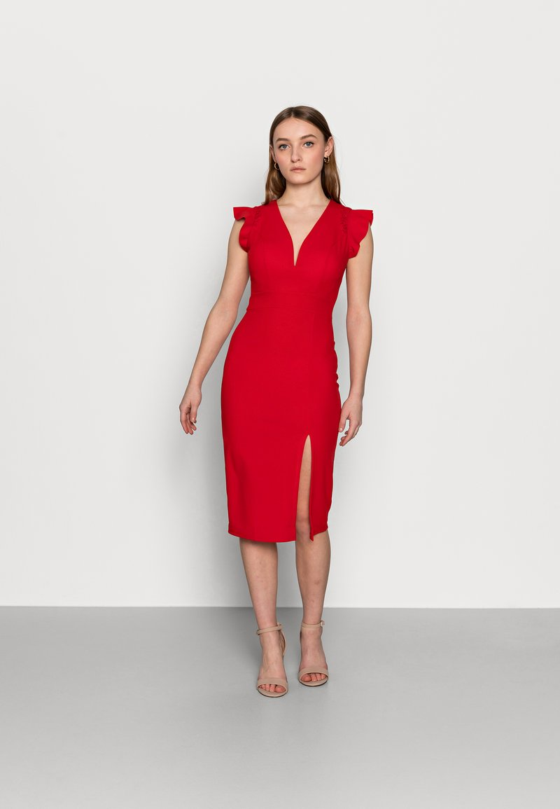 WAL G PETITE - Pouzdrové šaty - red