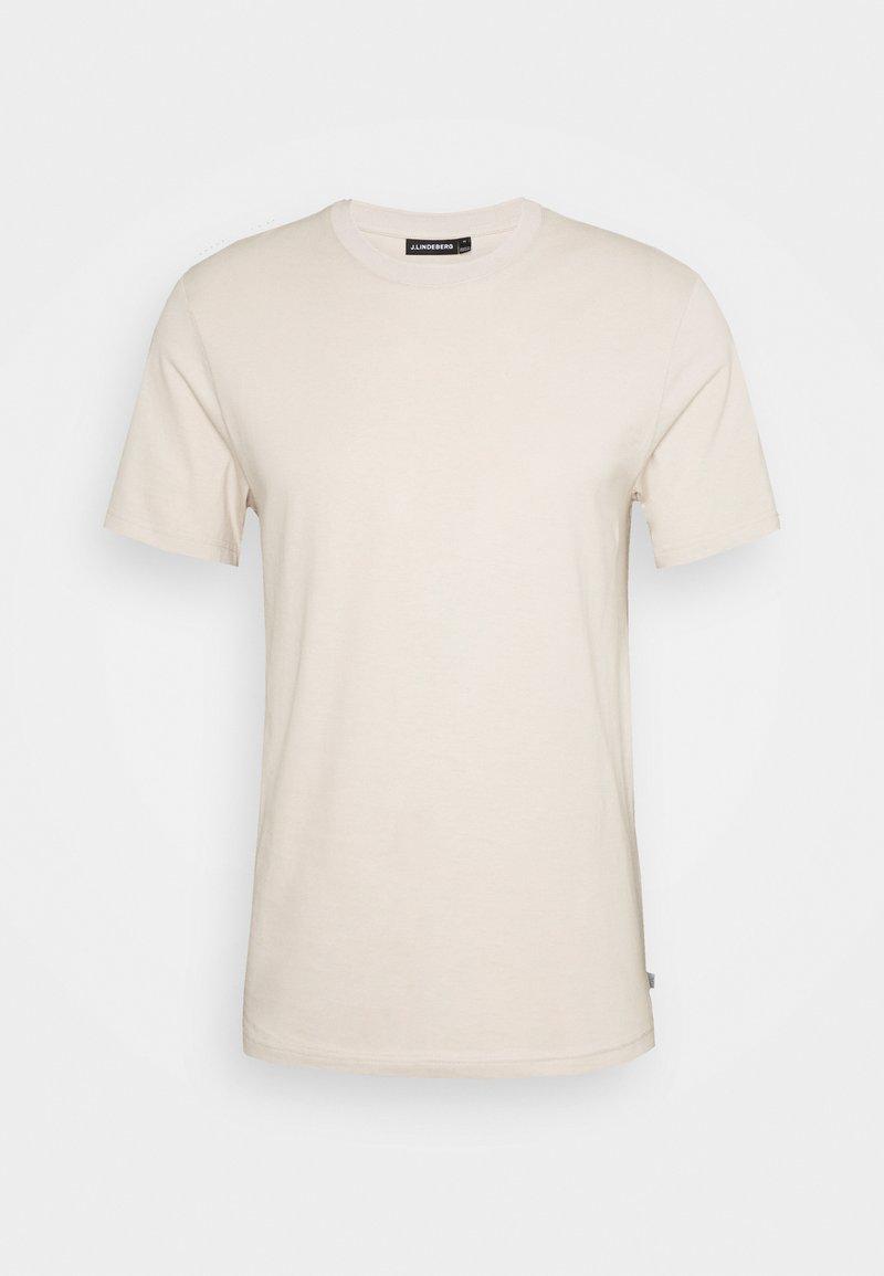 J.LINDEBERG - SILO - Basic T-shirt - sand grey
