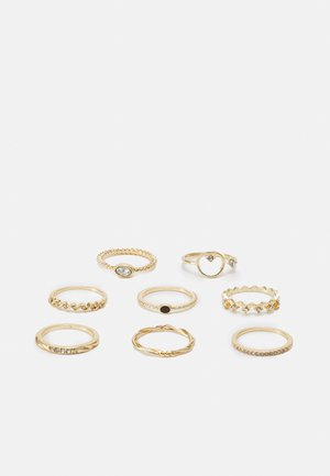 VILMO 8 PACK - Ring - gold-coloured