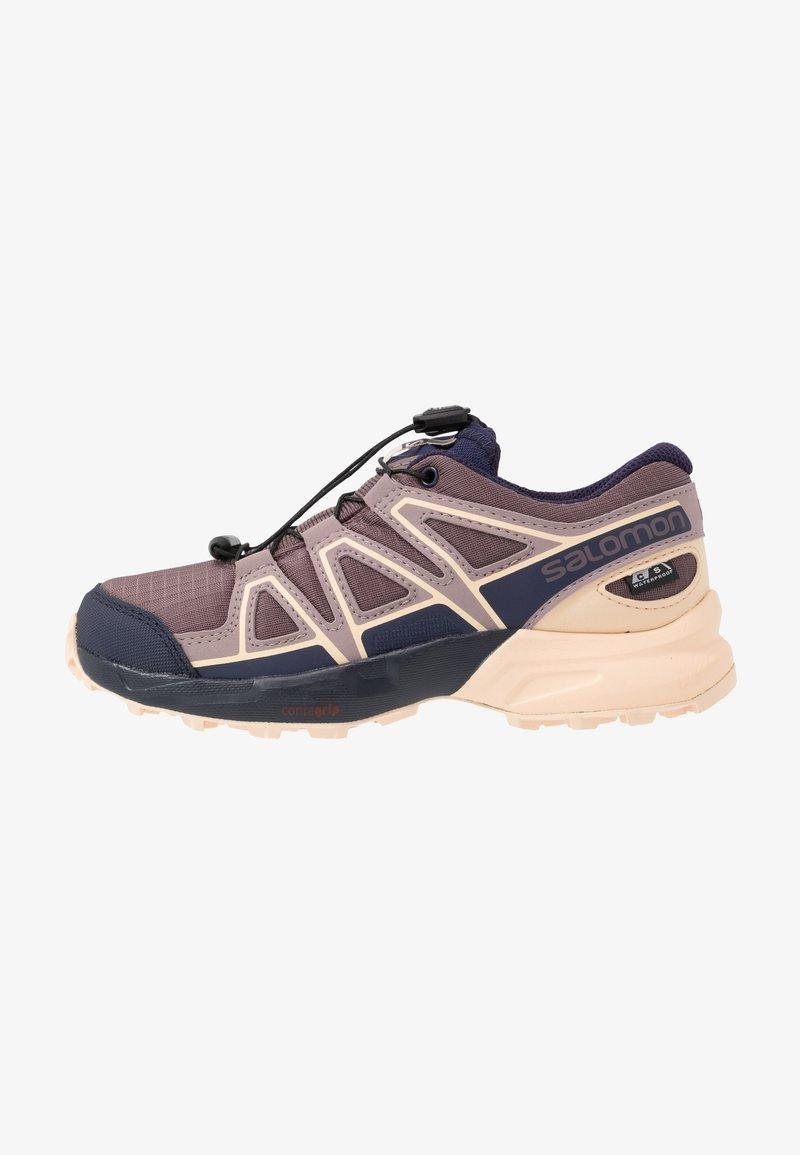 Salomon - SPEEDCROSS CSWP - Hiking shoes - flint/evening blue/bellini