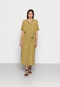 Esprit Collection - DRESS - Maxi dress - olive - 0