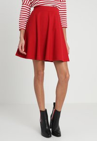 Soyaconcept - SC-DENA SOLID 58 - A-line skirt - ruby red - 0