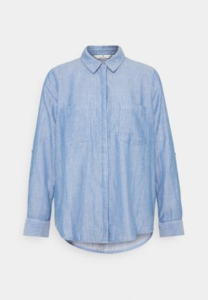 CHAMBRAY LOOK - Button-down blouse - stonington blue