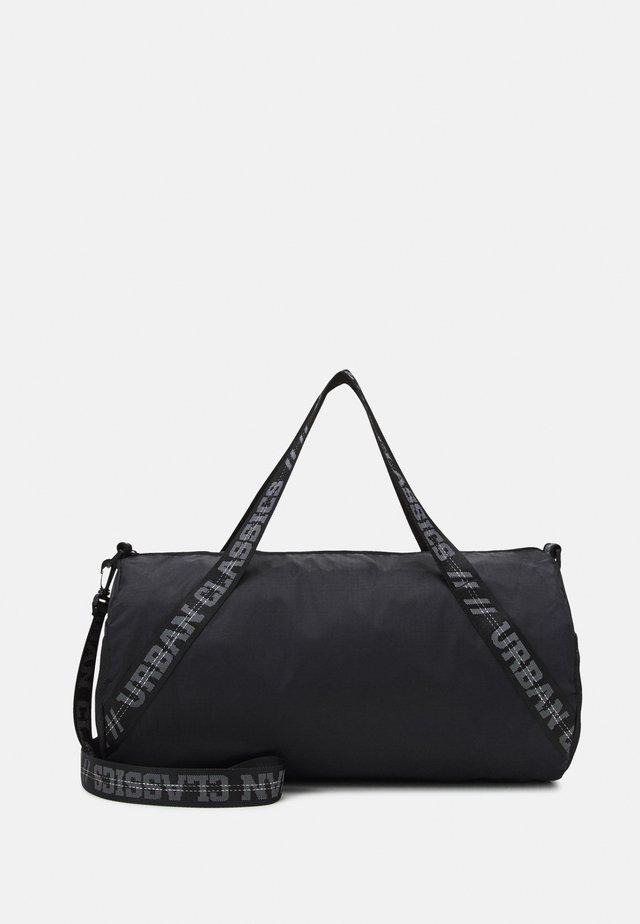 RECYCLED RIBSTOP UNISEX - Weekend bag - black