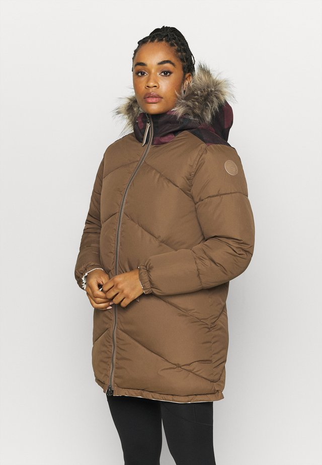 ARIETTA - Zimní kabát - natural white
