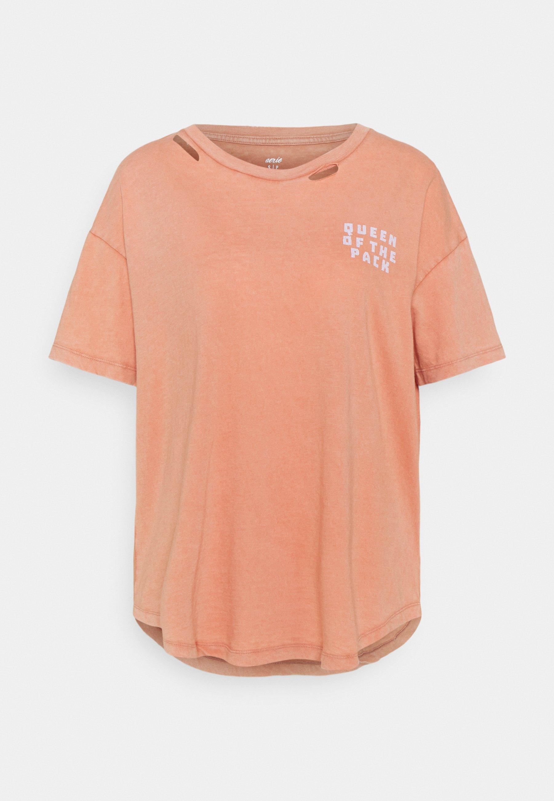 Damen DISTRESSED BASIC TEE - T-Shirt basic