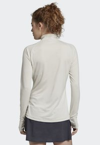 adidas Performance - TRACE ROCKER LONG-SLEEVE TOP - Sports shirt - white - 1