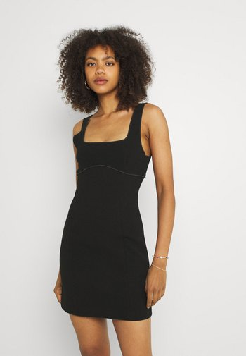 DEON MINI DRESS - Cocktailkjole - black