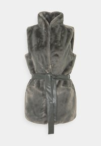 ONLY - ONLOLLIE WAISTCOAT - Waistcoat - charcoal gray - 4