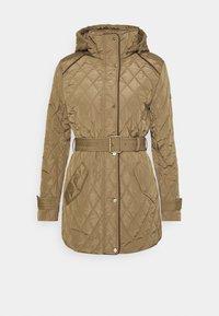 Lauren Ralph Lauren - JACKET BELT - Winter coat - sand - 2