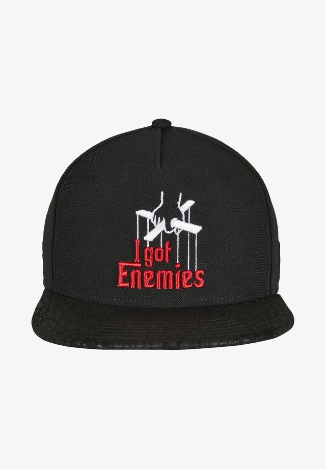 CAYLER & SONS ACCESSOIRES C&S WL ENEMIES CAP - Cappellino - black/red