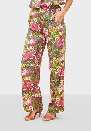 ESTIA - Trousers - green