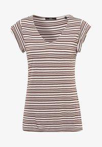 zero - Print T-shirt - almond - 4