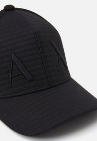Armani Exchange - BASEBALL HAT UNISEX - Keps - black - 3