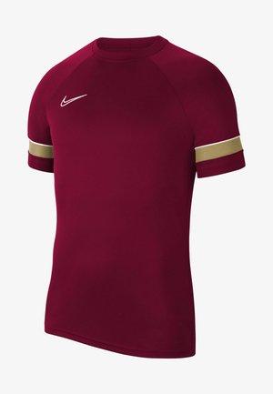 T-shirt z nadrukiem - team red/white/jersey gold/white