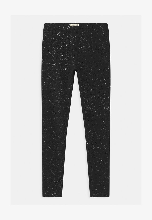 SPRAY GLITTER - Leggings - meteorite