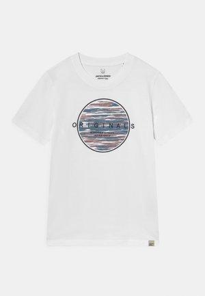 JORMILTON TEE CREW NECK JR - Print T-shirt - bright white
