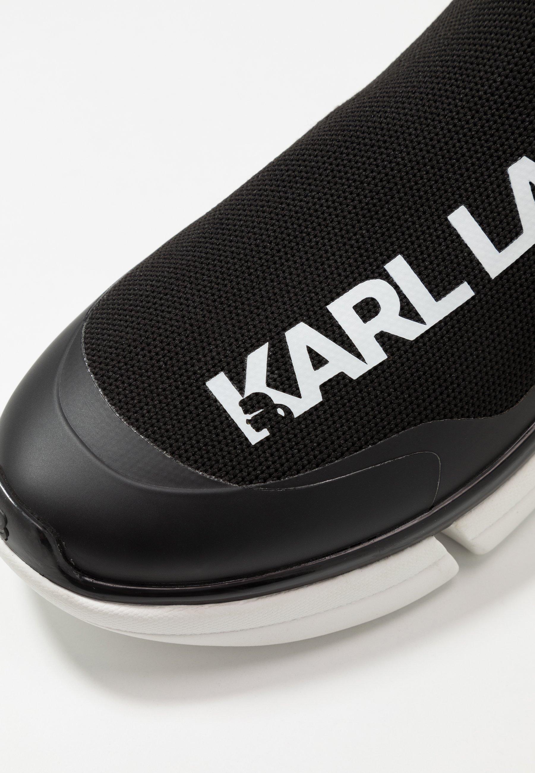 KARL LAGERFELD VENTURE Høye joggesko blackwhitesvart