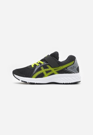 JOLT 2 - Neutral running shoes - graphite grey/lime zest