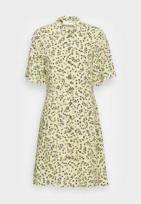 Selected Femme - UMA SHORT DRESS - Shirt dress - young wheat - 3