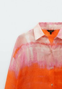 Massimo Dutti - REINEM RAMIE - Button-down blouse - red - 2