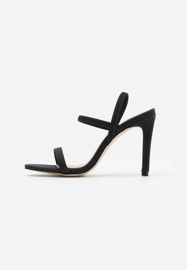 ZAYWIEN - Sandales à talons hauts - black