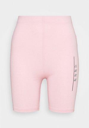 SLOGAN CYCLE SHORTS CO-ORD - Shorts - pink
