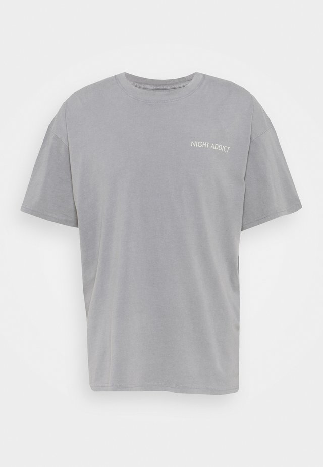 SOON - T-shirt con stampa - grey