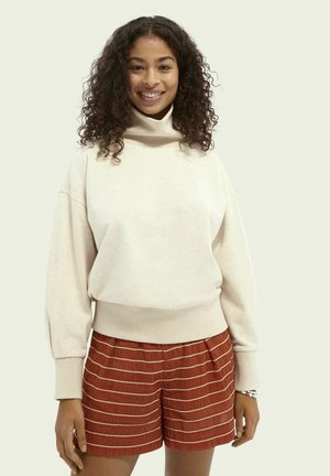 Sweater - off white melange