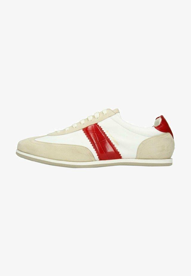 Sneakers laag - beige melange
