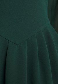 WAL G. - BELLA SLEEVE SKATER DRESS - Cocktail dress / Party dress - emerald green - 5