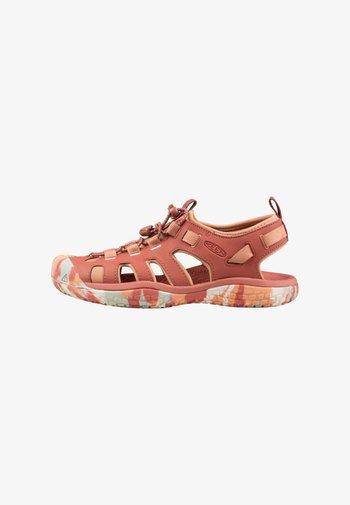 Walking sandals - redwood/pheasant