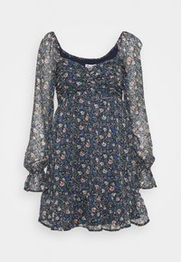 Hollister Co. - SHORT DRESS - Kjole - dark blue - 3