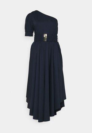 ONE SHOULDER MIDI DRESS - Day dress - midnightblue