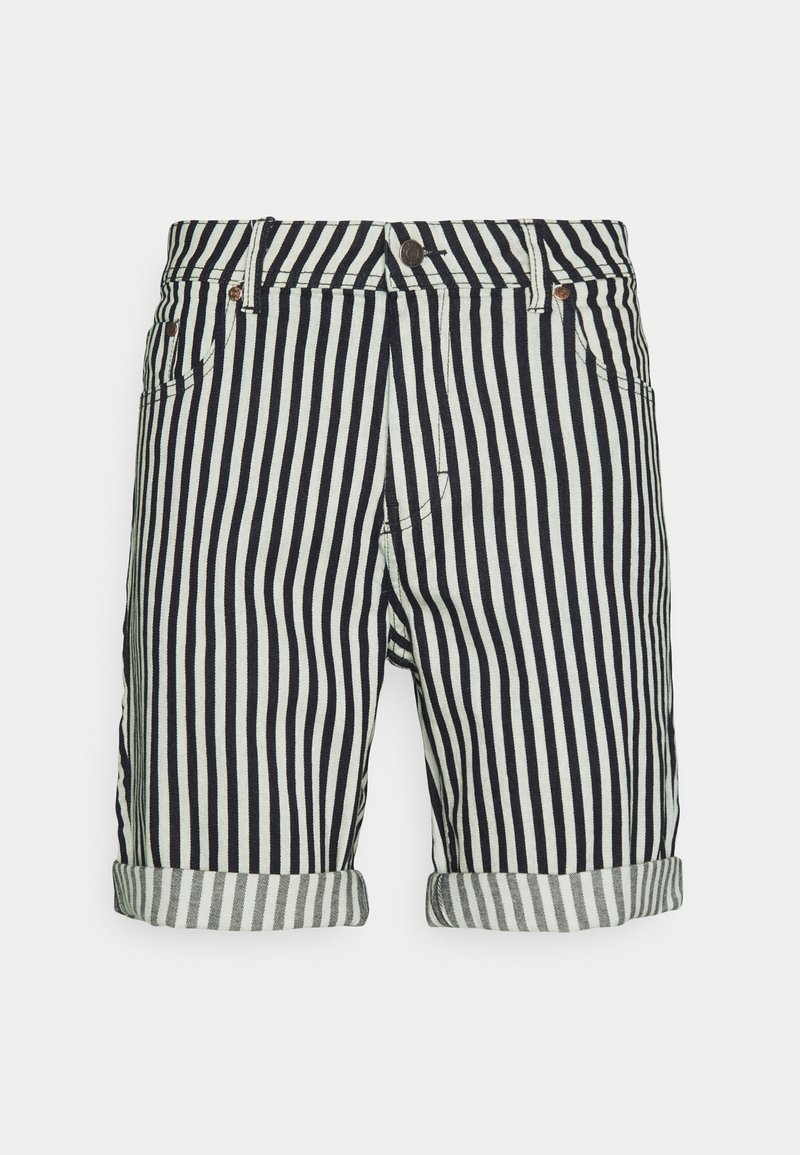 Denim Project - MR ORANGE STRIPE - Shorts - 167 block